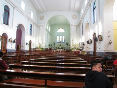 Inside St. Dominica's Church