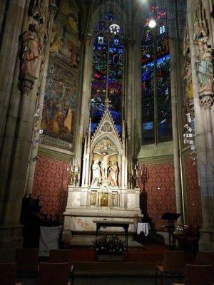 Inside Votivkirche