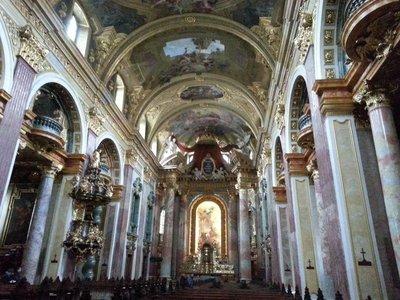 Inside Jesuit Church