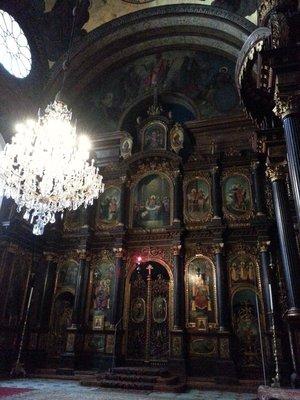 Inside Holy Trinity Greek Orthodox Church