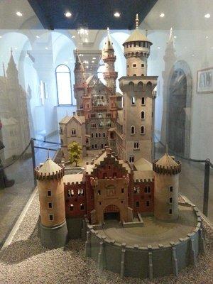 Neuschwanstein castle model