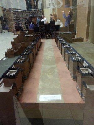 Ishtar gate model
