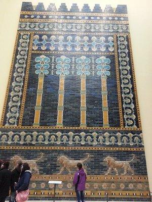 Ishtar gate motif
