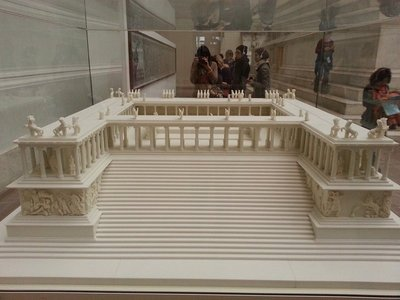 Pergamon altar model