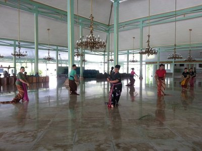 Dancing rehearsal