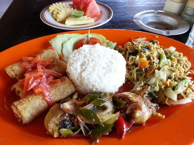 Balinese lunch set