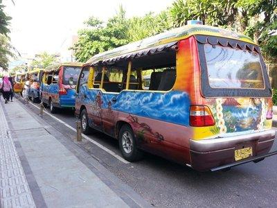 Bali tourist buses