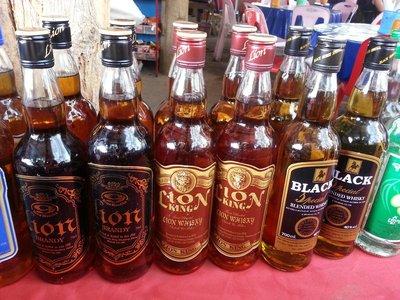Laos whiskey