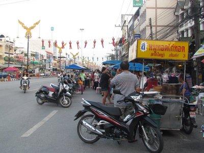 Street stalls