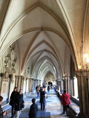 Arches of Westminister Abbey