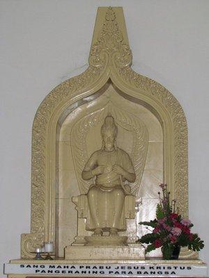 Jesus as a Javanese king