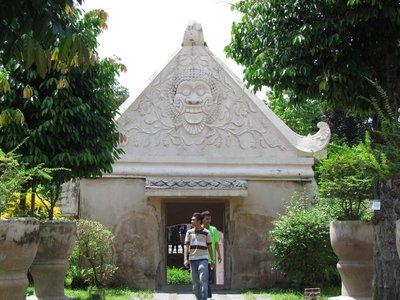 Gate of Taman Sari Water Castle