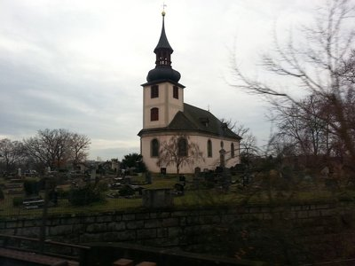 Church and cemetery