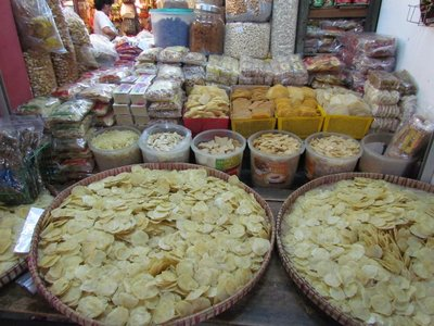 Dried crackers
