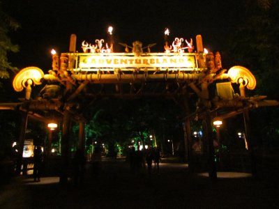 Entrance to Adventureland