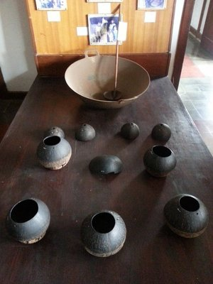 Equipments used for making palm sugar