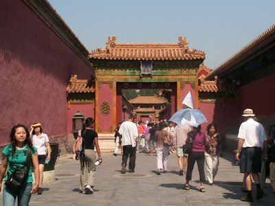 Gate in the Forbidden City