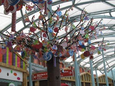 Hanging lollies