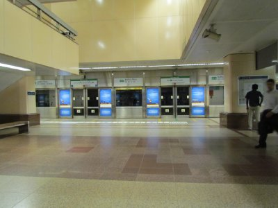 Deserted MRT station