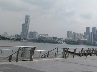View of Singapore river