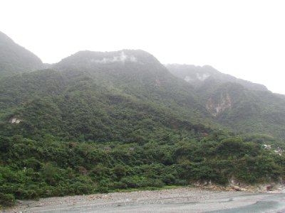 Scenery of Toroko Gorge