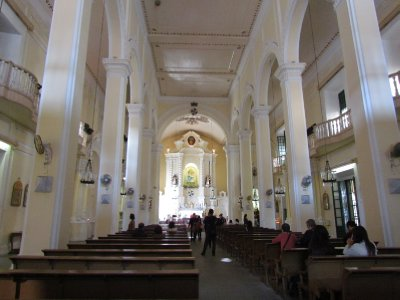 Inside St. Dominic church
