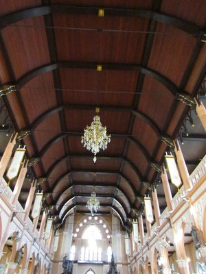 Cathedral of the Immaculate Conception ceiling
