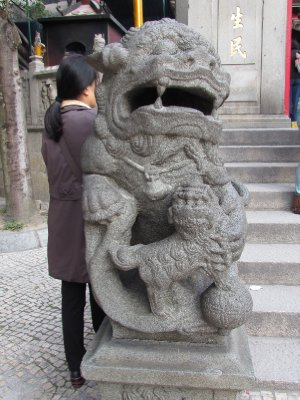 Guardian of A-Ma Temple