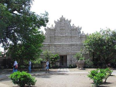 West gate into Taman Sari