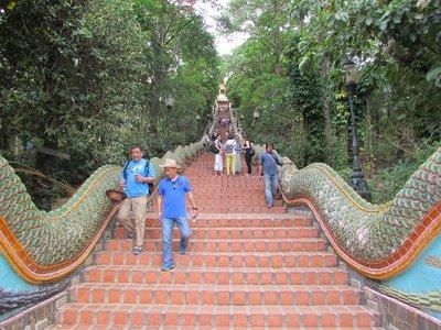 Steps to Wat Phra That Doi Suthep