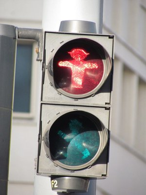 Berlin traffic light