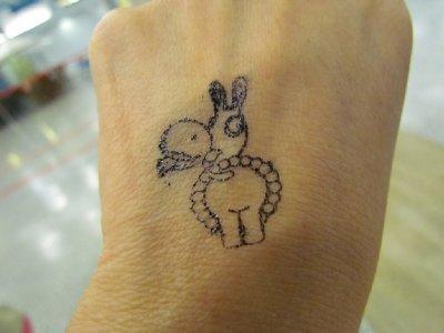 Donkey stamp