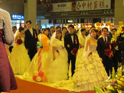 Mass wedding