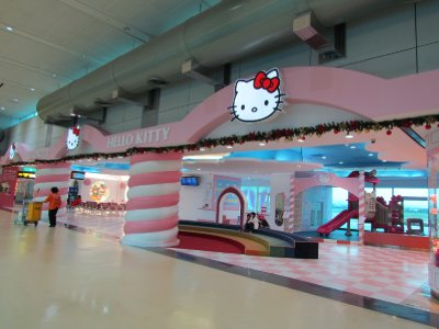 Hello Kitty waiting hall