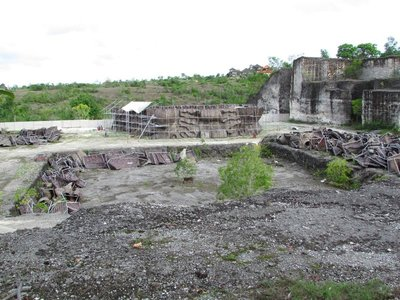 Future site of Garuda Wisnu statue