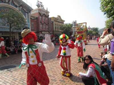 Clowns in Disneyland?
