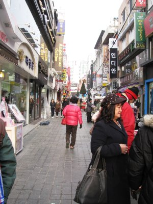 Myongdong Shopping Street
