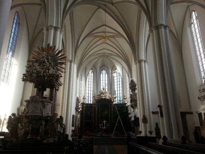 Inside Maria church