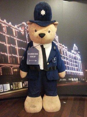 Policeman bear