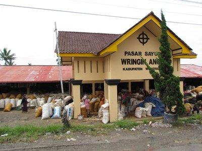 Potato wholesale market