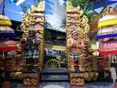 Typical Balinese gate