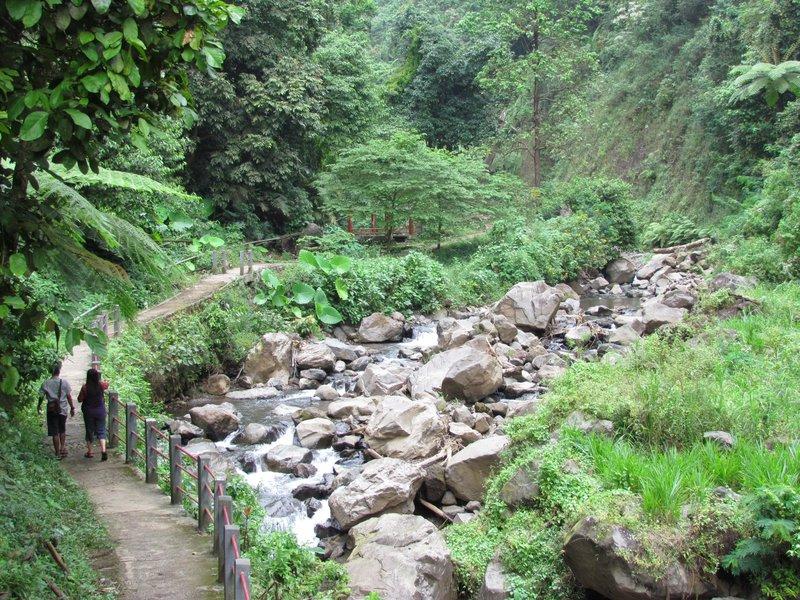 Path to Madakaripura waterfall