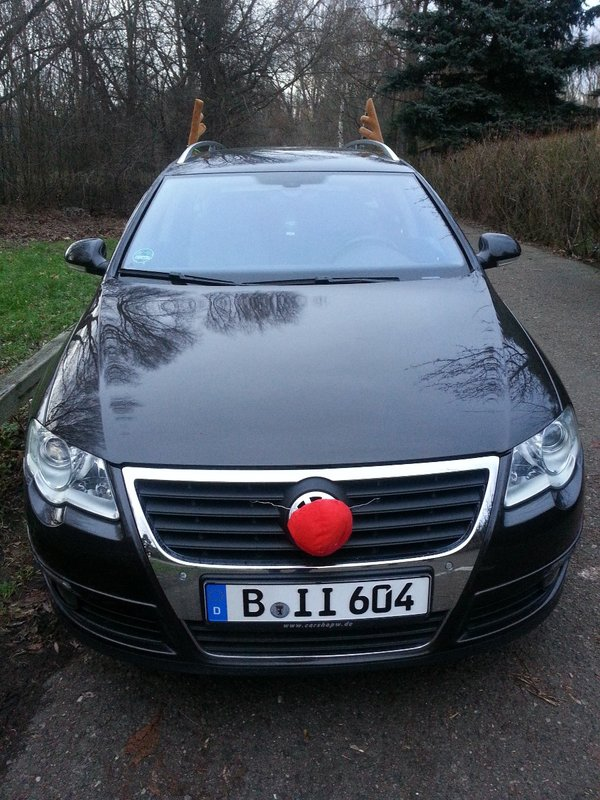 Rudolph, the red nose car