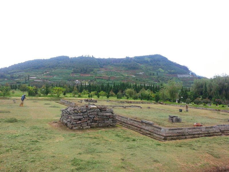 Dieng temple ruins