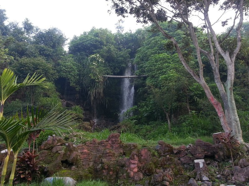 Waterfall in Kalisat village