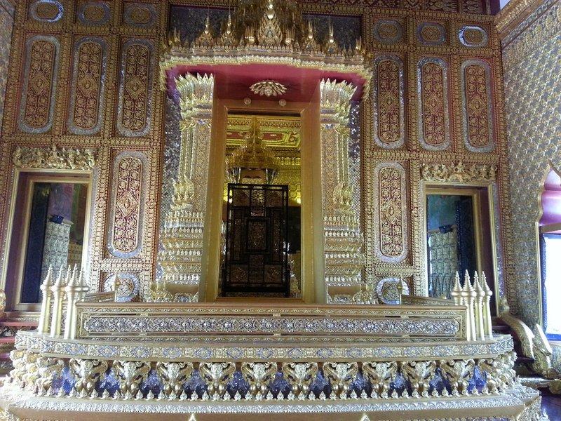 Inside Sanphet Prasat Palace