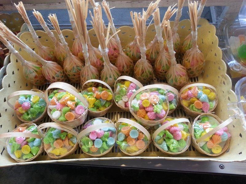 Traditional Thai desserts