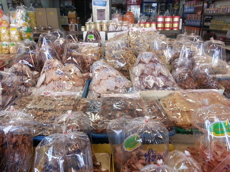 Dried seafood snacks
