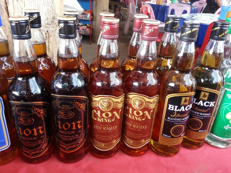 Laos whiskey
