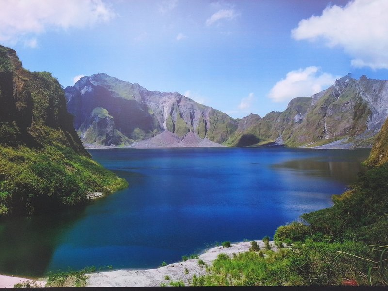 Lake in Philippines